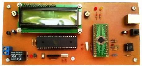 کنترل دما با کامپیوتر از طریق USB