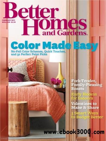 مجله و ژورنال جدید 2/2011 Better Homes & Gardens