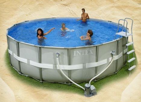 استخر بادی خانوادگی ultra frame pool