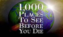 1000 جايي كه قبل از مرگ بايد ديد !