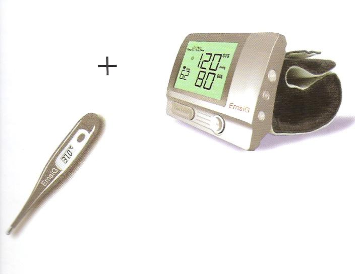 فشار سنج مچی امسیگ همراه با تب سنجدیجیتالیBW36