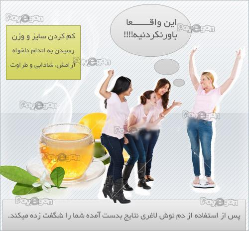 چای لاغر کننده اصل