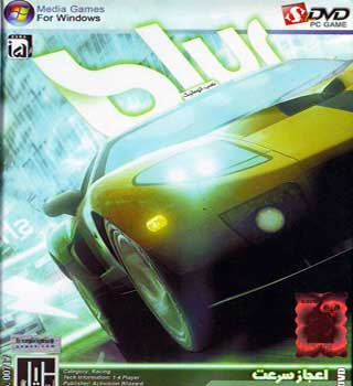 بازی ماشین سواری اعجاز سرعت - اورجینال BLUR