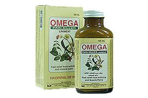 روغن ضد درد کاملا گیاهی امگا omega pain killer