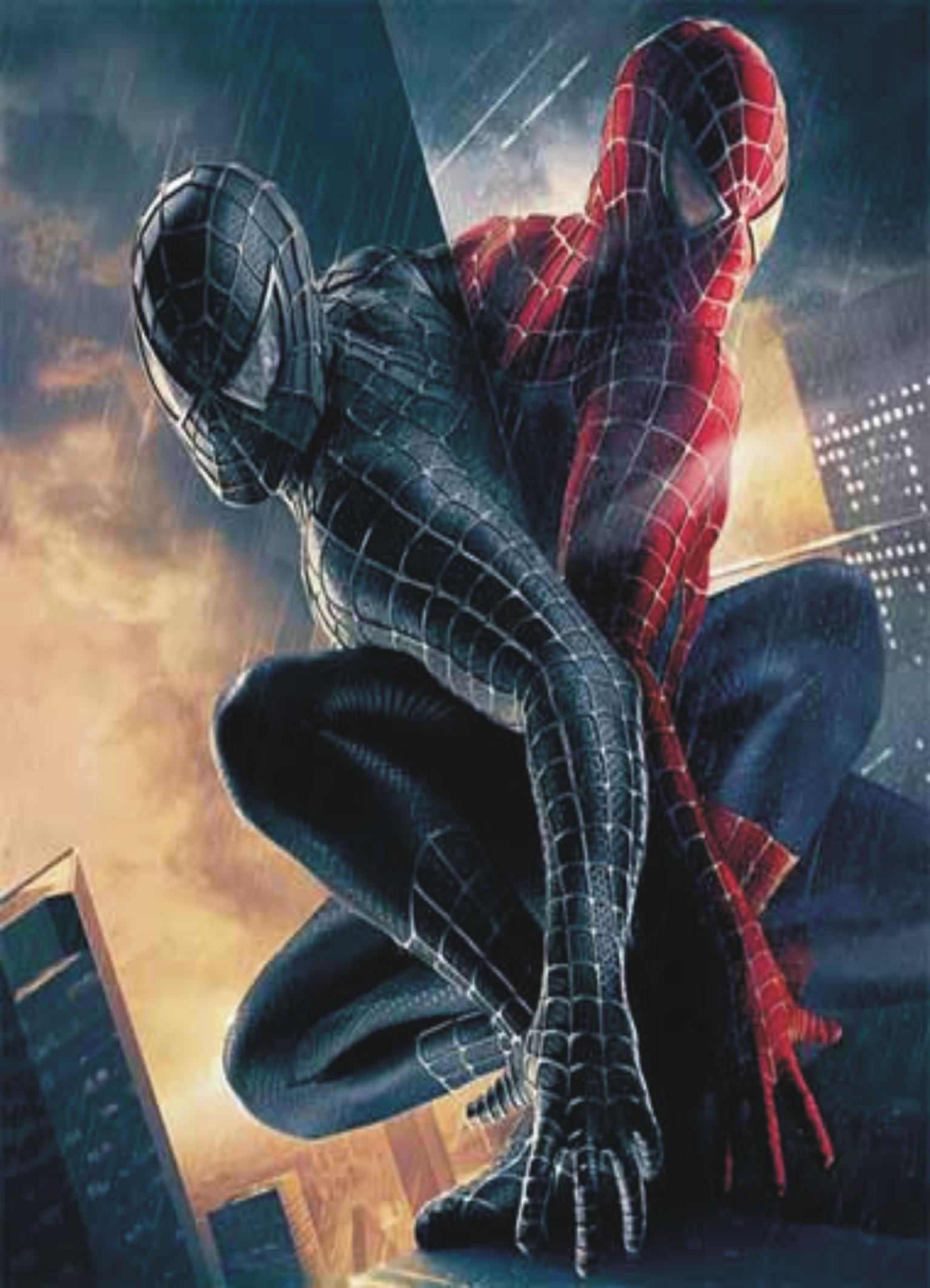 مرد عنكبوتي ۳ (توبي مگواير و كريستين دانست)