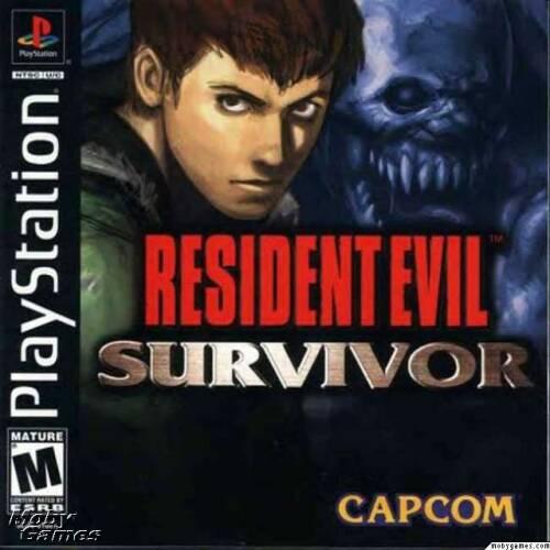 بازی Resident Evil: Survivor