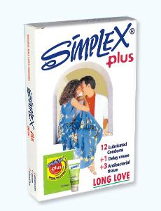 94 - کاندوم سفید پلاس سیمپلکس (مجوز 15313 / 9 / ک)