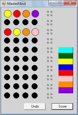 دانلود پروژه بازی حافظه ای رنگ ها به زبان سی شارپ #C
