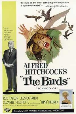 فیلم کلاسیک پرندگان(آلفرد هیچکاک)