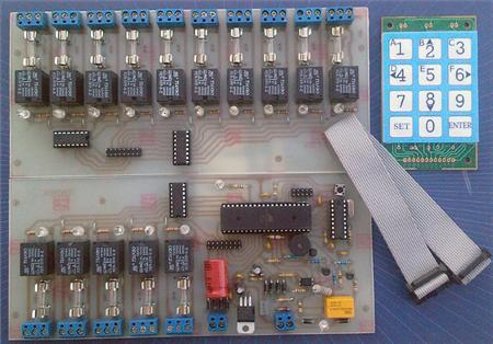 كليد كنترل تلفني 15كانال-پارسیان الکتریک لاله زار