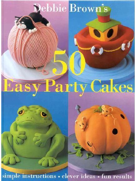 کتاب الکترونیکی آموزش ساخت 50 مدل کیک برای جشن