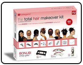 ست کامل درست کردن مو توتال میک آور