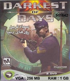 1/164- بازی سیاه ترین روزهای دنیا - Darkest of Days