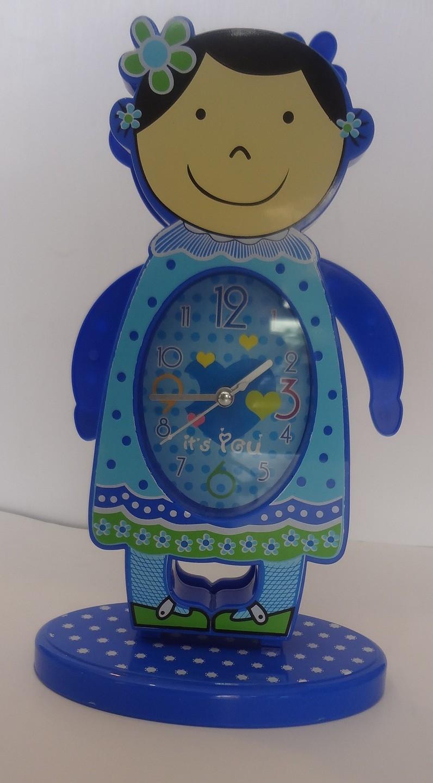 ساعت رومیزی آدمکی متحرک