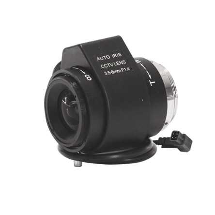 Varifocal Auto IRIS 3.5-8 mm