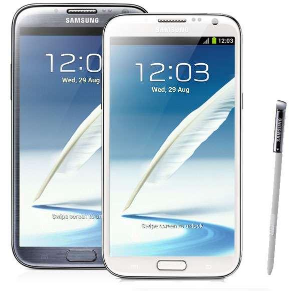 گوشی طرح اصلی Samsung Galaxy Note II با اندروید ۴
