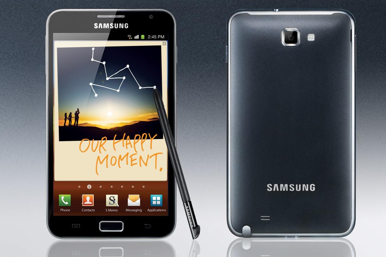 طرح اصلی Samsung Galaxy Note با اندروید 4