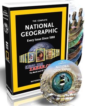 مجموعه مجلات کمپانی National Geographic از سال 1888 تا 2008