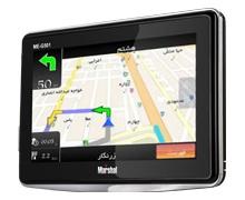 دستگاه جی پی اس مارشال 5 اینچی برای خودرو