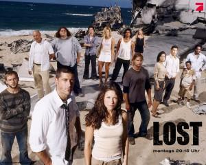 سریال زیبای LOST یا گمشدگان در 12 DVD کیفیت عالی