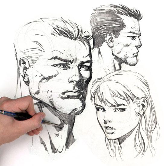 طراحي دو چهره | آموزش طراحي - جي نومون ورك شاپ