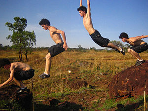 ورزش پاركور | اصول پاركور