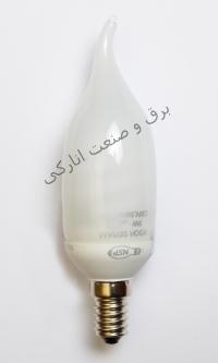 لامپ کم مصرف اشکی و شمعی نور صرام پویا
