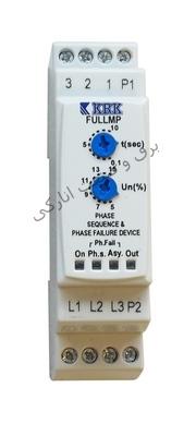 کنترل فاز + محافظ حرارتی موتور (بدون نول) Full MP