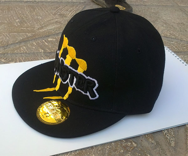 کلاه کپ با طرح Monster مشکی