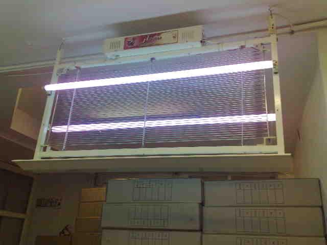 حشره كش برقي 2 لامپ 40 وات مدل 180 شهباز