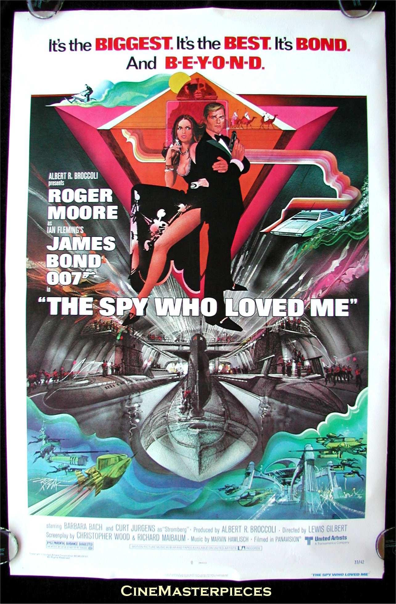 جاسوسي كه مرا دوست داشت (راجر مور)