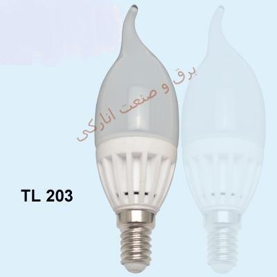 لامپ LED سری TL 203  (شمعی اشکی 3w)