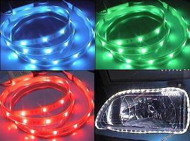لامپ اس ام دی نواری ضدآب برای نورپردازی اتومبیل