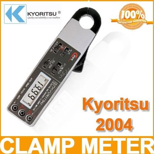 کلمپ آمپر متر AC / DC کیوریتسو kyoritsu AC/DC Digital Clamp Meter 2004