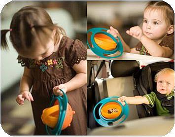 فروش ویژه و ارزان ظرف غذای کودک Universal Gyro Bowl
