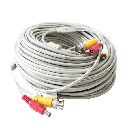 کابل تصویر صدا ولتاژ 50 متری BNC