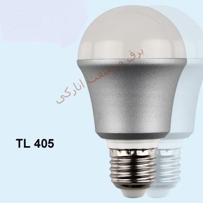 لامپ LED سری TL 405 (حبابی سرپیچ بزرگ 5w)
