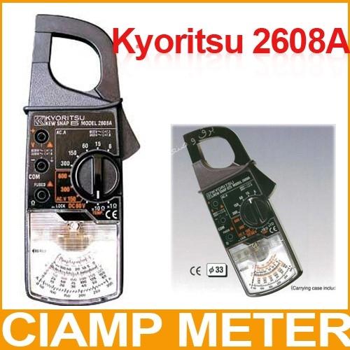 کلمپ امپر متر AC ، کلمپ آنالوگ کیوریتسو KYORITSU Analogue Clamp Meters2608