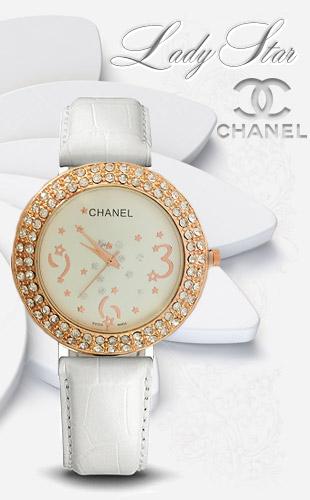 ساعت CHANEL Lady Star سفيد  ساعت برگزيده مشاهير دنيا