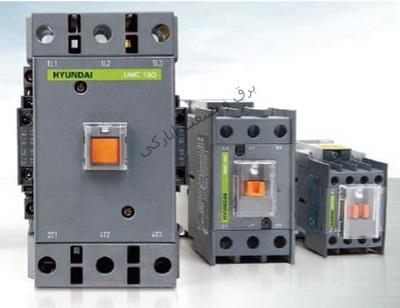 کنتاکتور 130A 220V سری U هیوندا کره