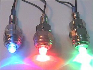 چراغ شبنمای آبی برای اتومبیل