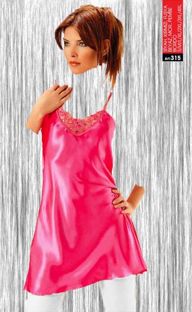 لباس خواب ساتن sistinaکد315-M طرح گل