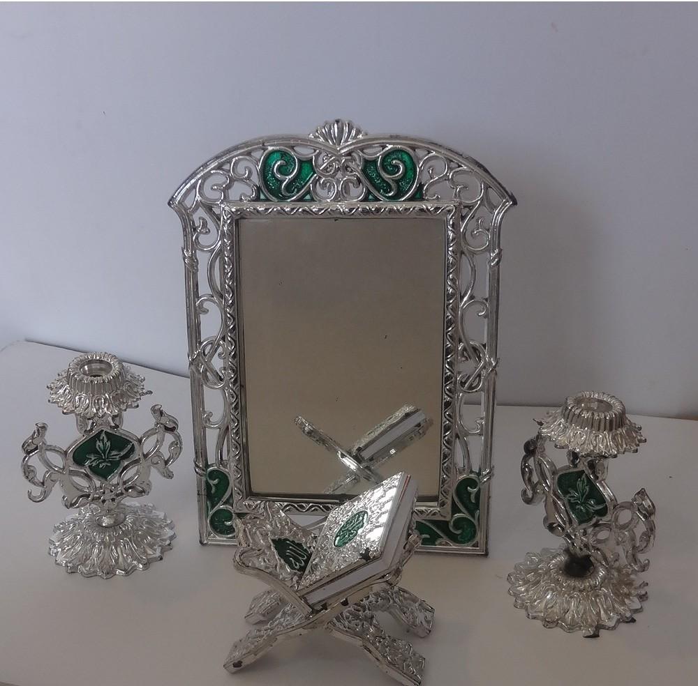 آینه وشمعدان تزینی