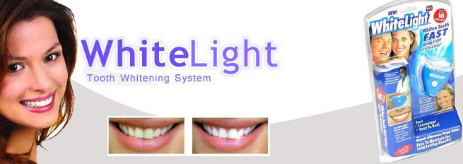 دستگاه سفيد كننده دندان  whitelight