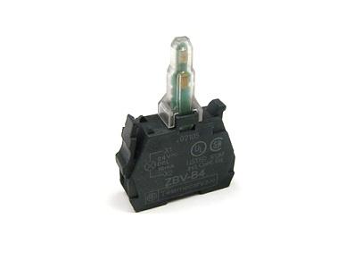 کنتاکت کمکی سبز چراغدار     ZBV-B3