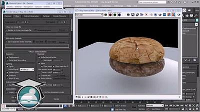 آموزش مدلسازی یک ساندویچ همبرگر کاملا واقعی به کمک 3DS Max و ZBrush
