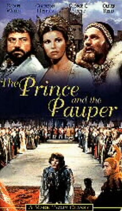 فیلم کلاسیک شاهزاده و گدا (الیور رید و راکوئل ولش)