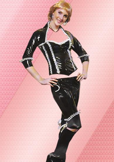 لباس فرم چرمی فنسی
