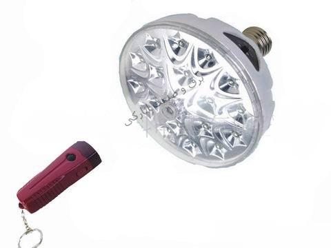 چراغ سقفی شارژی LED کنترل دار پر قدرت مدل HK-189