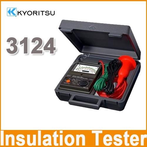تستر عایق با ولتاژ بالا کیوریتسو Kyoritsu High Voltage Insulation Tester 3124